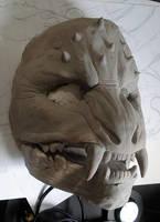 Mask jaw start by missmonster