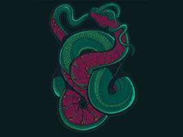 Snake shirt on woot