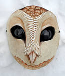 Owl mask complete