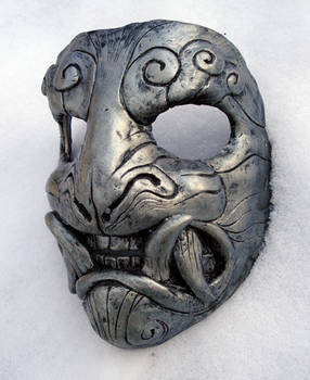 Mask in snow