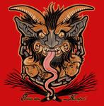 Krampus 2010 shirt design