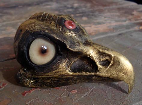 Brass creature skull- Grump