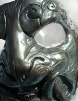 Demon mask iridescent by missmonster