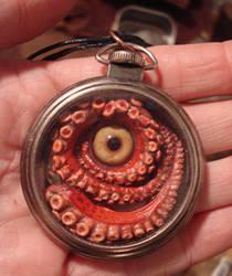 Pocket Kraken glass eye