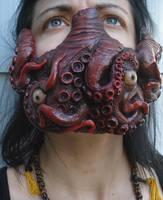 Deluxe Custom Tentacle Mask by missmonster