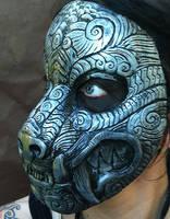Ornate Monster Mask Silver by missmonster