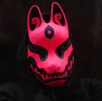 Black Light Fox mask by missmonster
