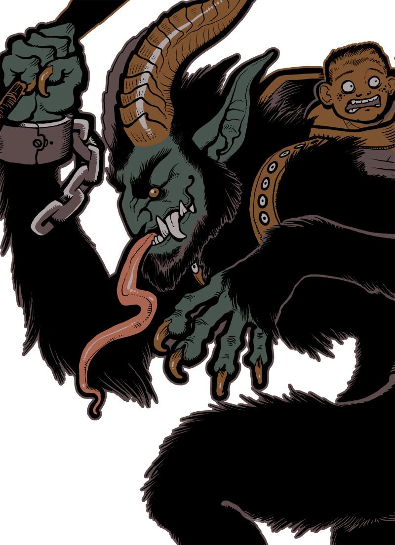 Krampus 2011 detail