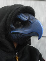 Tengu bird mask by missmonster