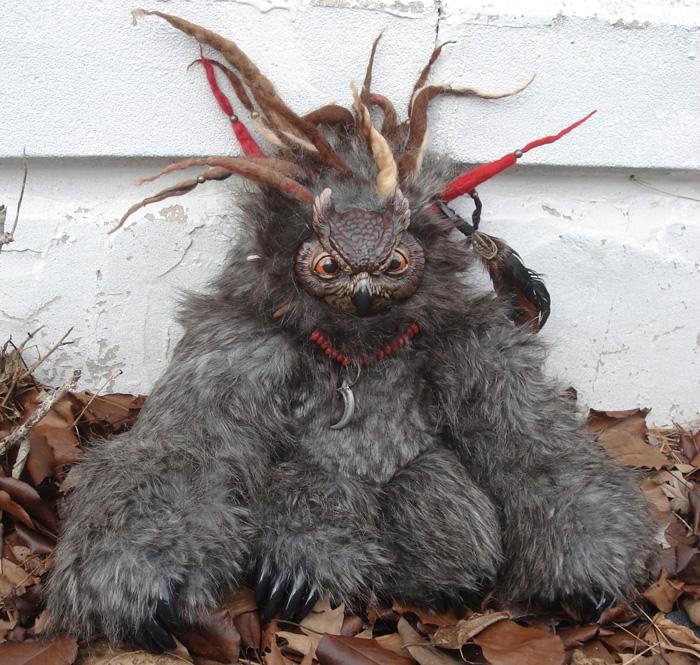 Owlbear doll by missmonster