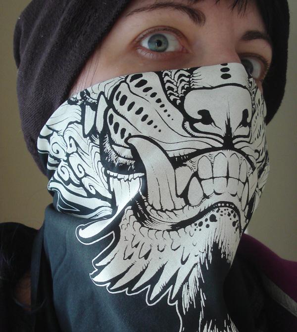 Foo bandana print by missmonster