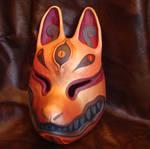 Kitsune mask gold