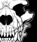 Werewolf skull detail