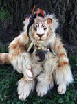 Apollyon tiger doll