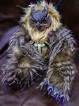 Surly Owlbear doll