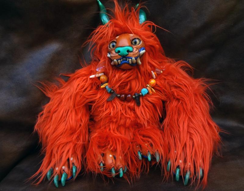 Julius the lion doll by missmonster