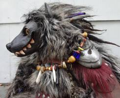 Gnarl the Gnoll original doll by missmonster