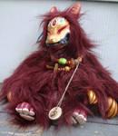 Kari the Fox Demon Doll