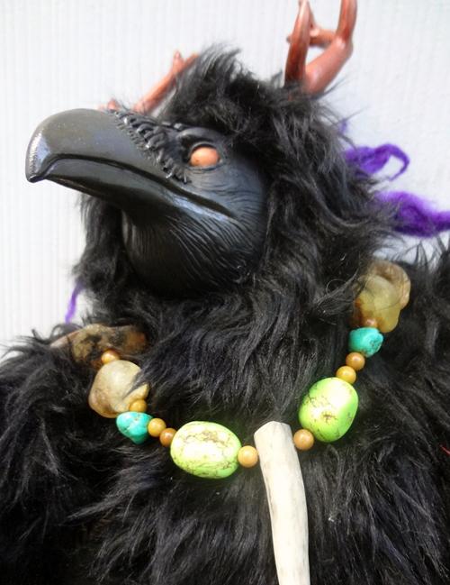 Verin the Raven doll by missmonster