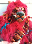 King Foo Dog doll preview