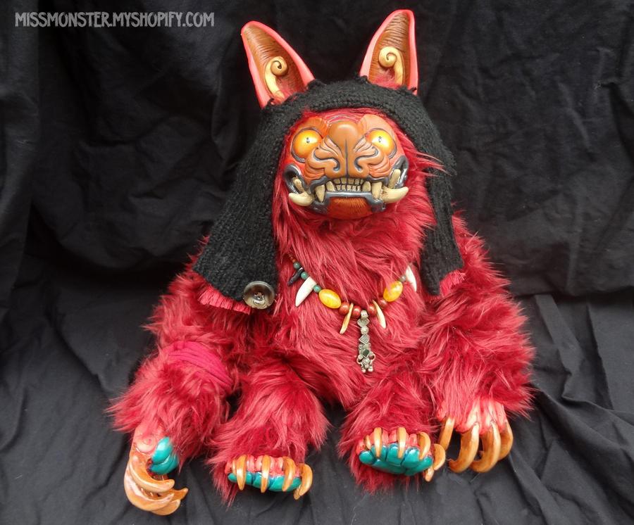 Zotz the bat monster doll by missmonster