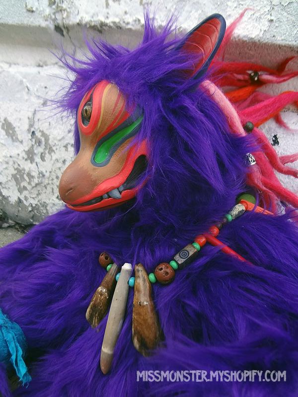 Gaki the Fox Demon doll by missmonster