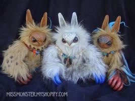 Baby Owlbears by missmonster