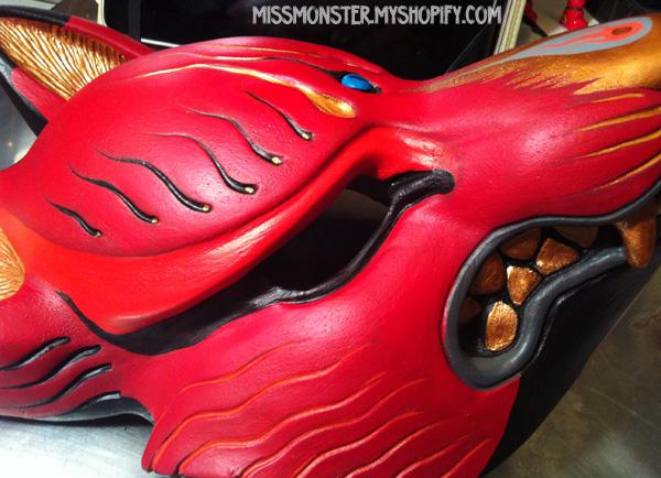 Kitsune mask painted edition 1 sneak peek by missmonster