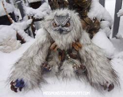 Harlo the owlbear by missmonster