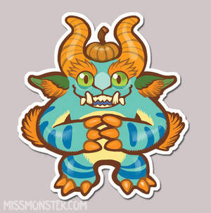 Mose the Monster sticker