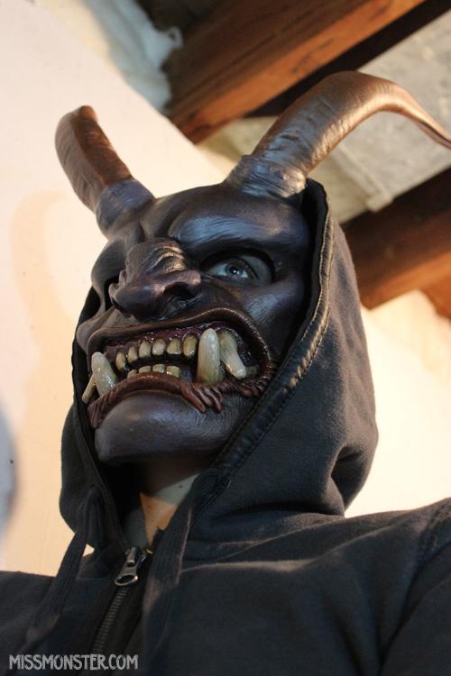 Krampus Mask DIY preorder by missmonster