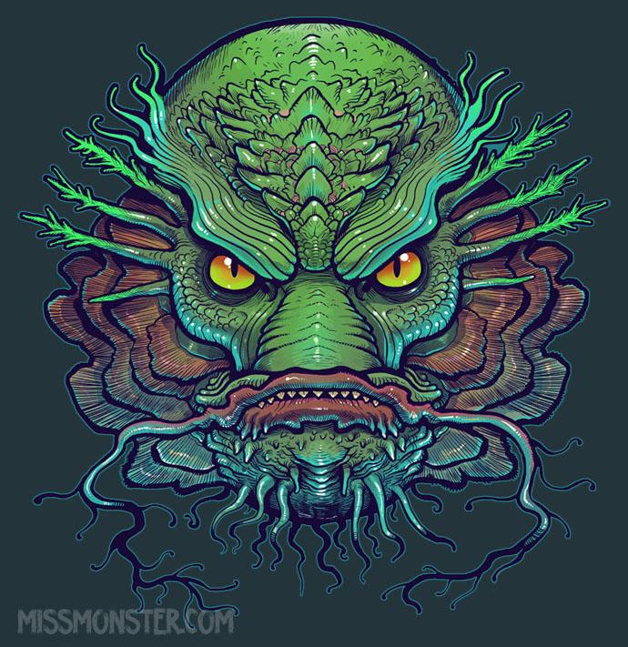 Creature shirt design