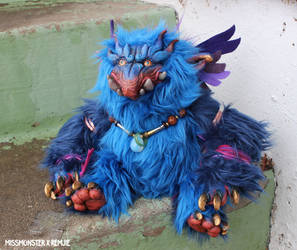 Zutphen the Baku doll Missmonster x Remjie collab