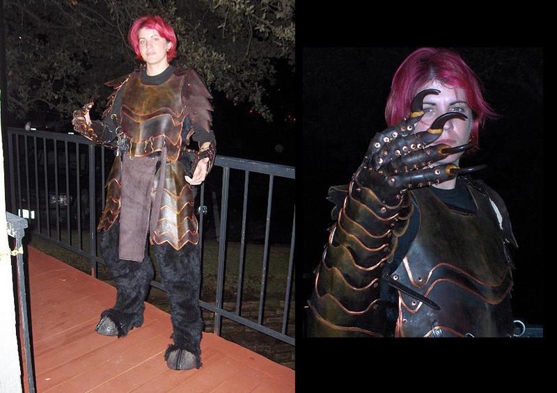 armor for costume by missmonster