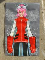 FLCL Haruko by missmonster