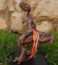 Dino sculpt DONE by missmonster