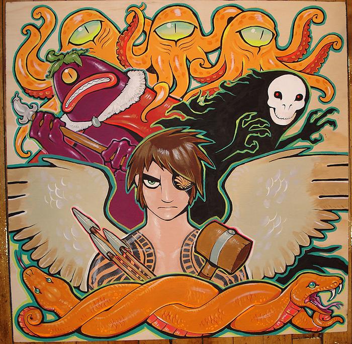 Kid Icarus By Missmonster