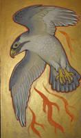 Traditional falcon