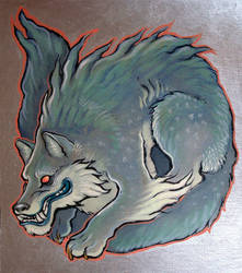 silver wolf by missmonster
