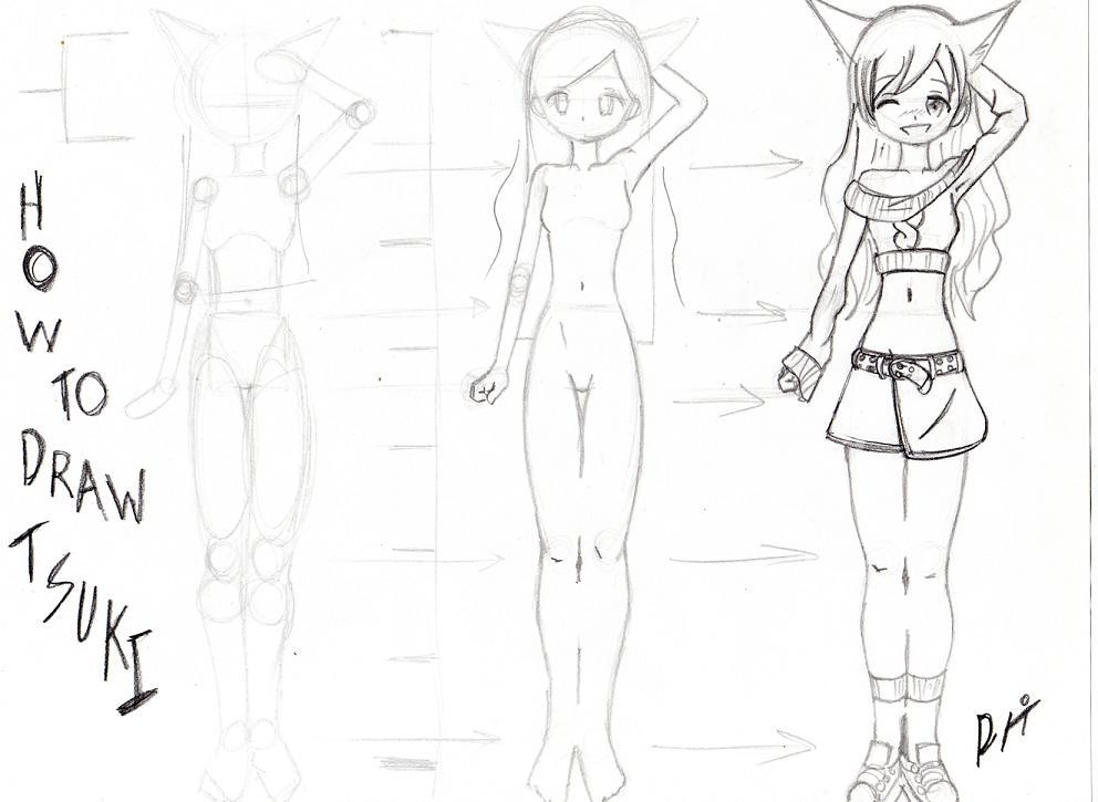 Full Body Drawing Tutorial by anicemanhotty on DeviantArt
