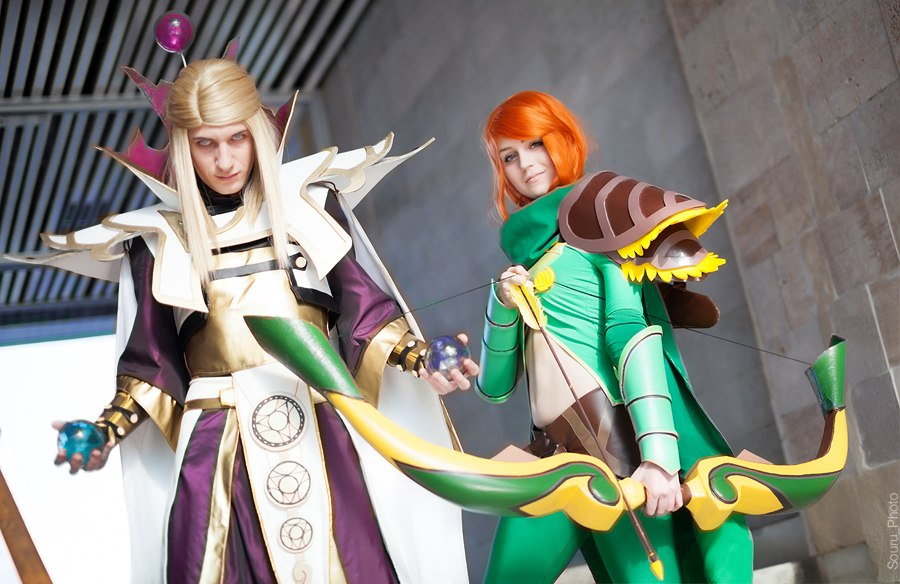 invoker and windrunner doata 2 cosplay wizard by uebaqq on