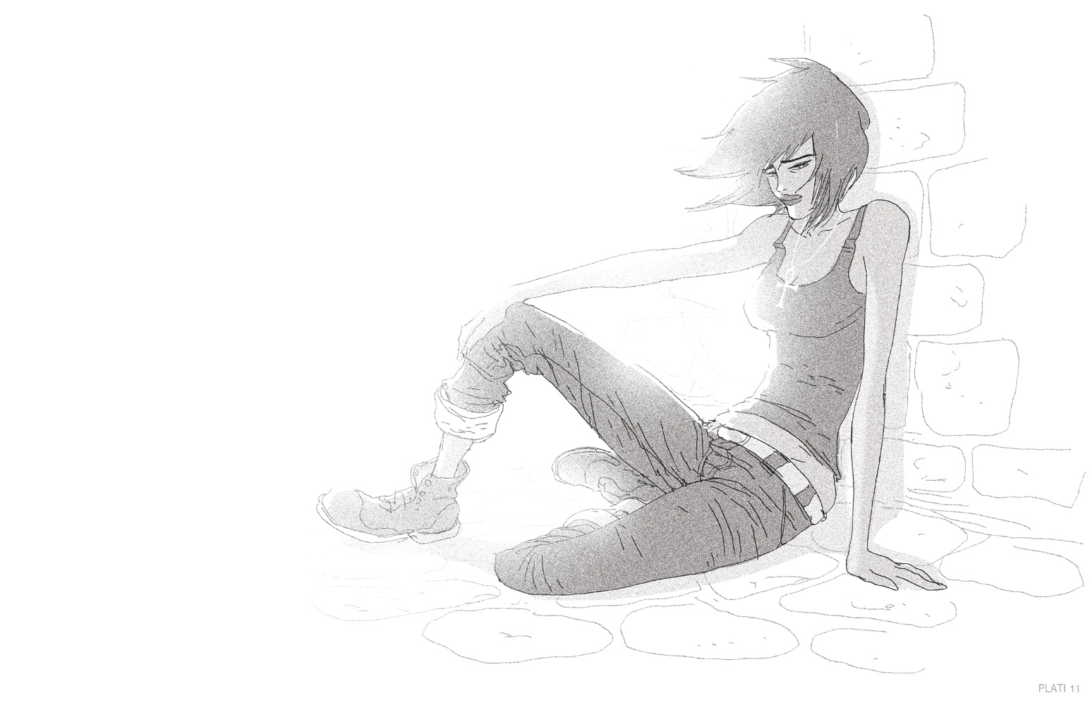 Quick Death doodle. by NunoPlati
