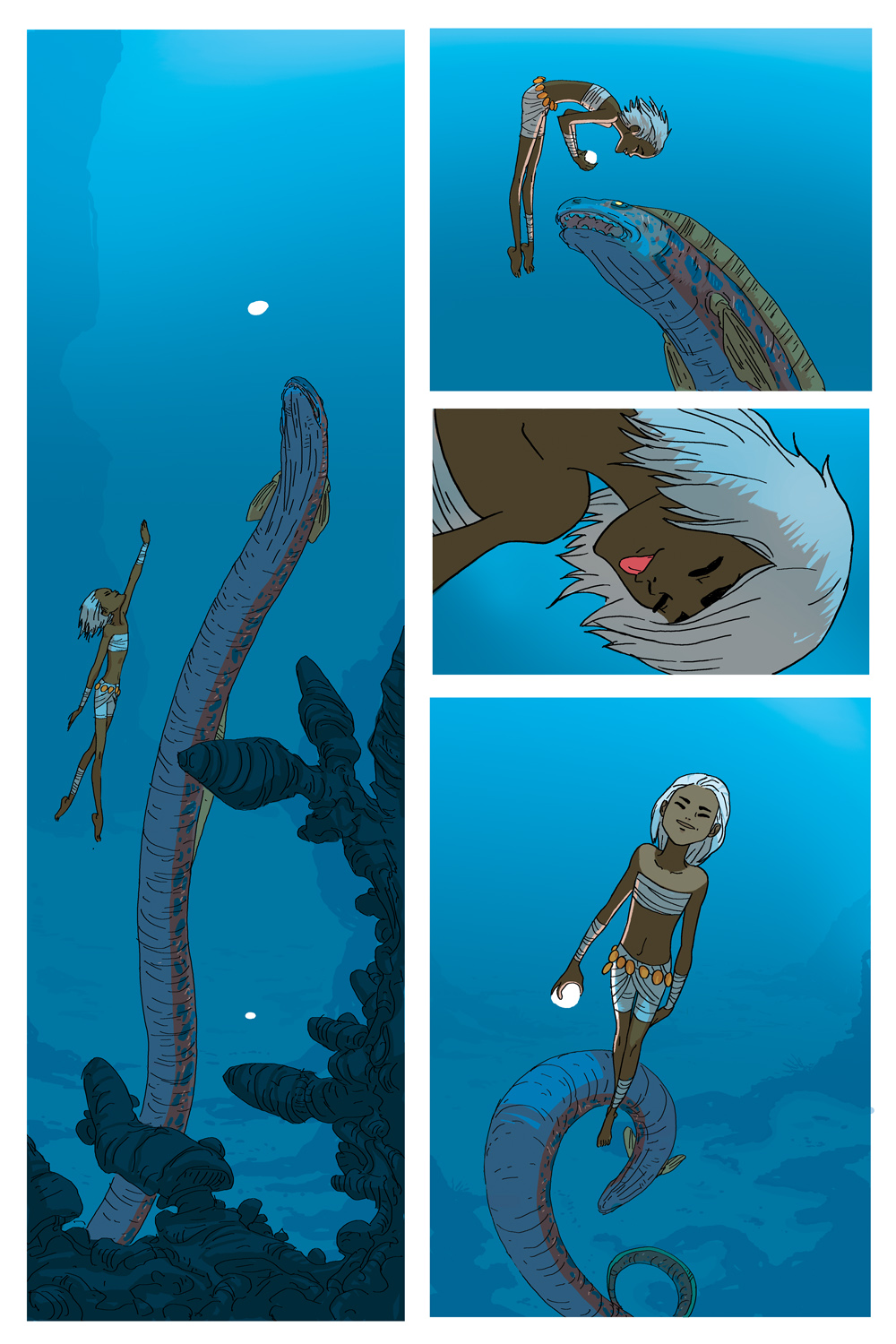 Mia Tales from the Lost Islands page 8 color by NunoPlati