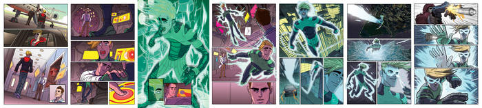 Alpha Big Time preview pages.