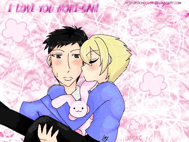 Wallpaper I Love You Honey : Mori and Honey-I love you by pochoclox on DeviantArt