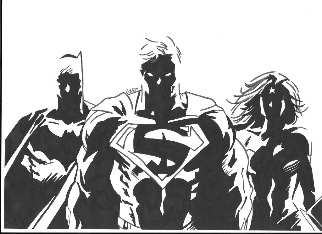 Part of justice league by NatBam