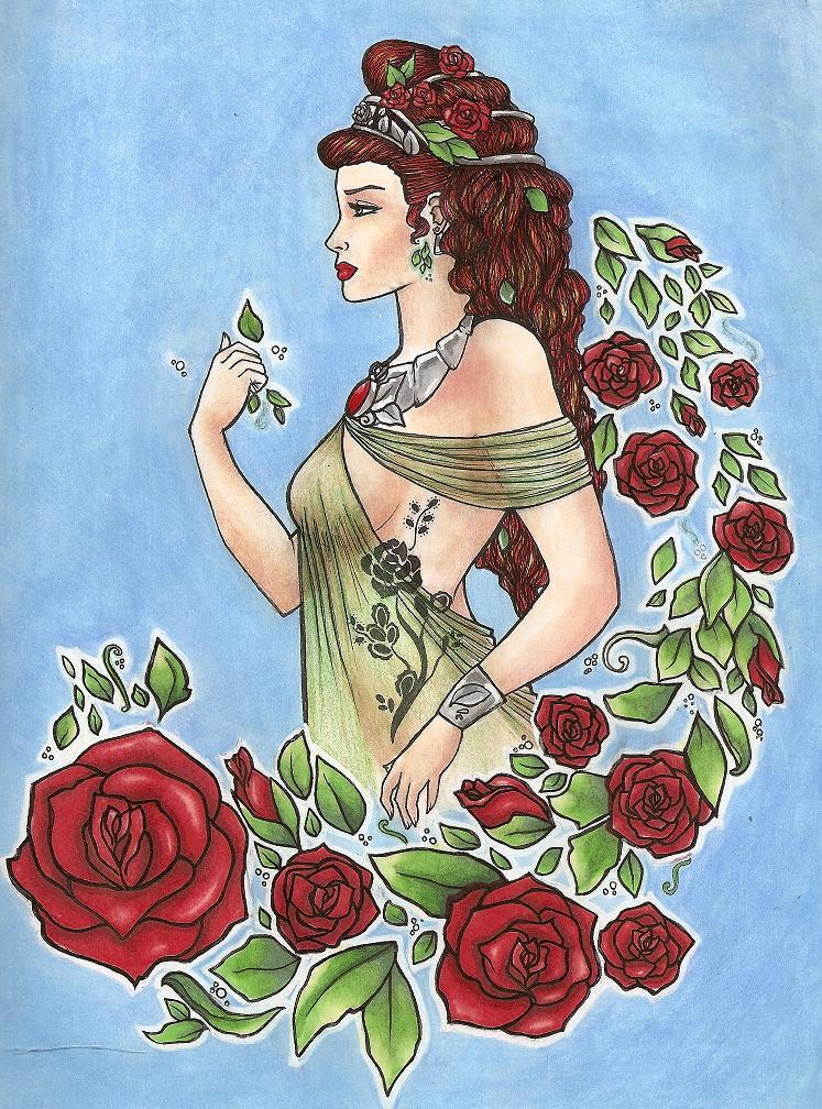 demeter greek goddess drawing - photo #31
