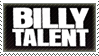 Billy Talent Stamp by TheChiza