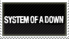 System of a Down Stamp by AndreaCrystale