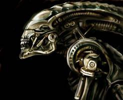 terminator alien by monomauve